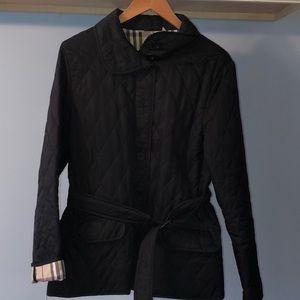Burberry quilted diamond coat medium